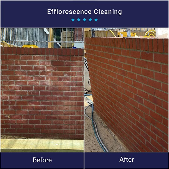 Brick and Stone Cleaning