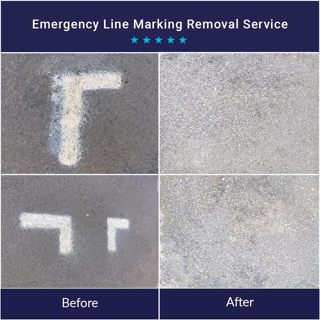 Emergency Line Marketing Removal