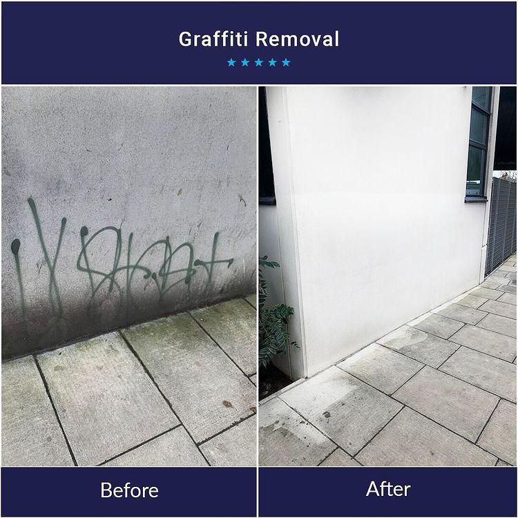 Graffiti Removal Services in London