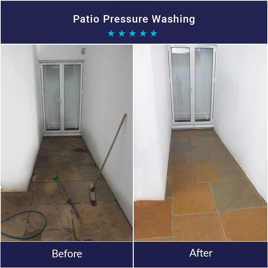 Patio Pressure Washing Services